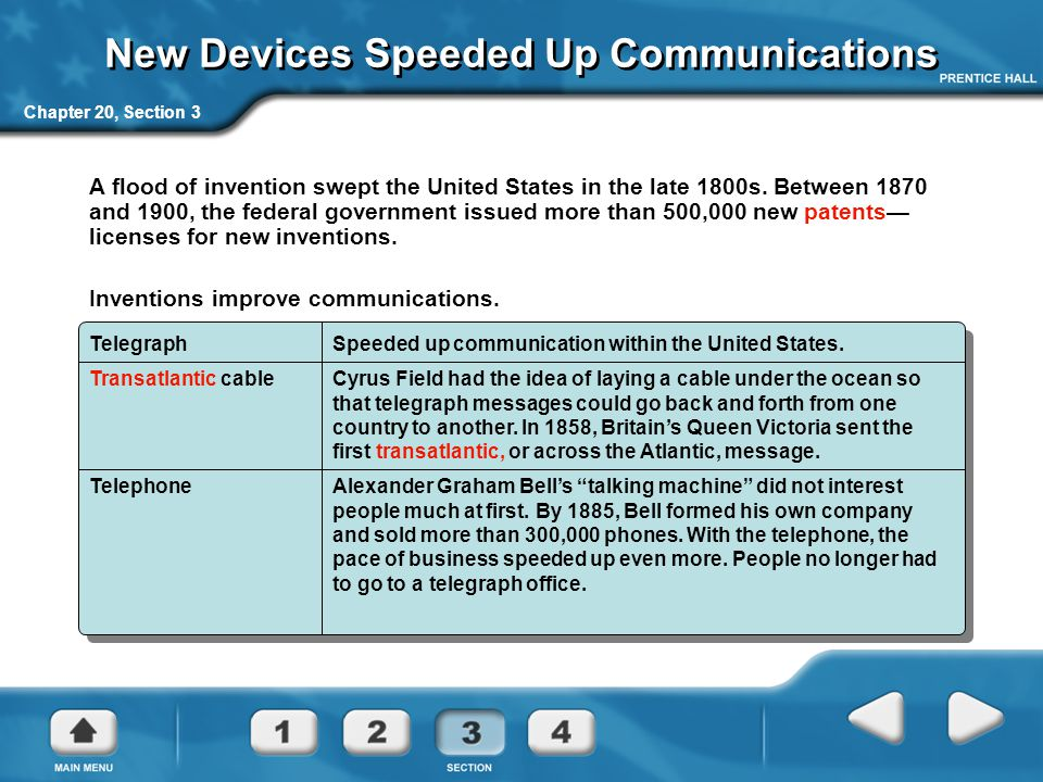 New Devices Speeded Up Communications