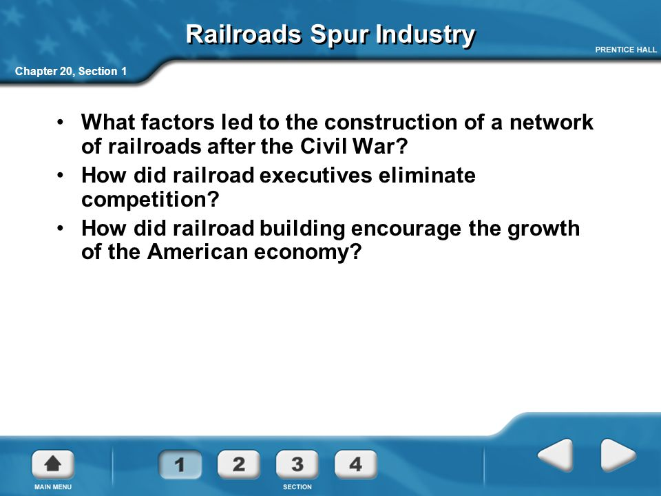 Railroads Spur Industry