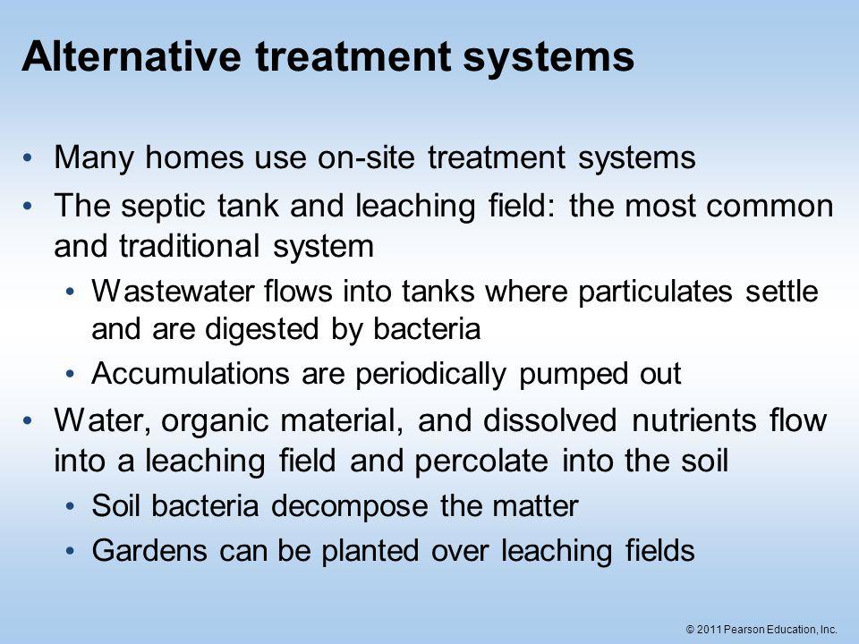 Alternative treatment systems