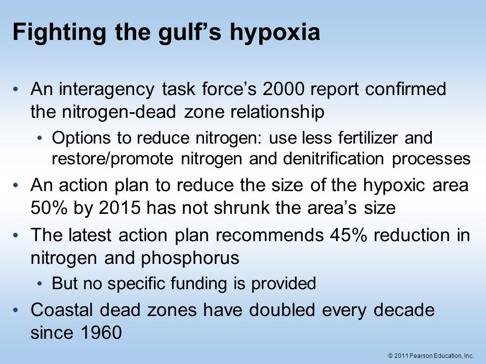 Fighting the gulf's hypoxia