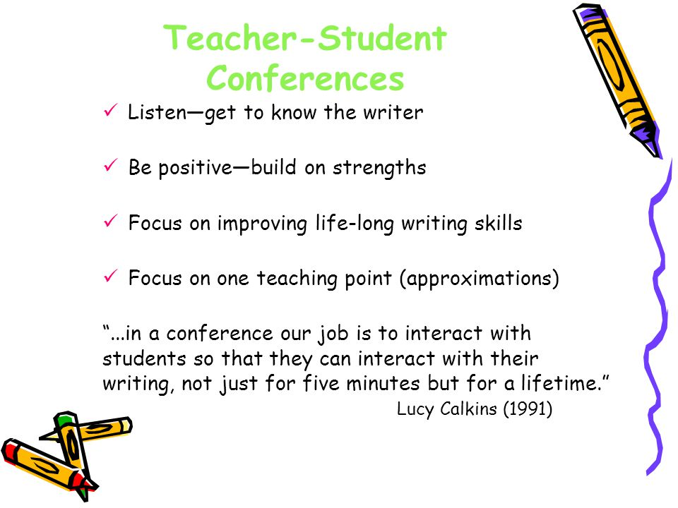 Teacher-Student Conferences