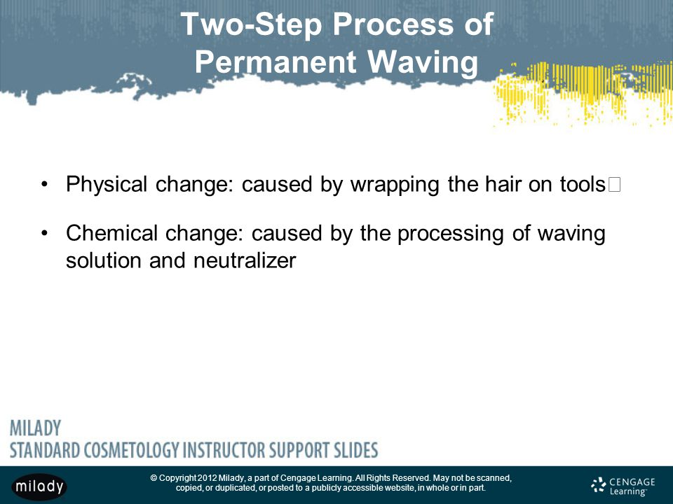 Two-Step Process of Permanent Waving