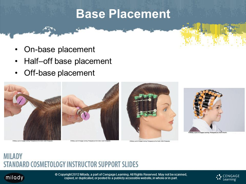 Base Placement On-base placement Half–off base placement