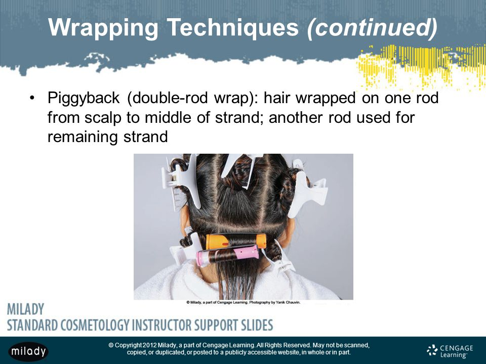 Wrapping Techniques (continued)