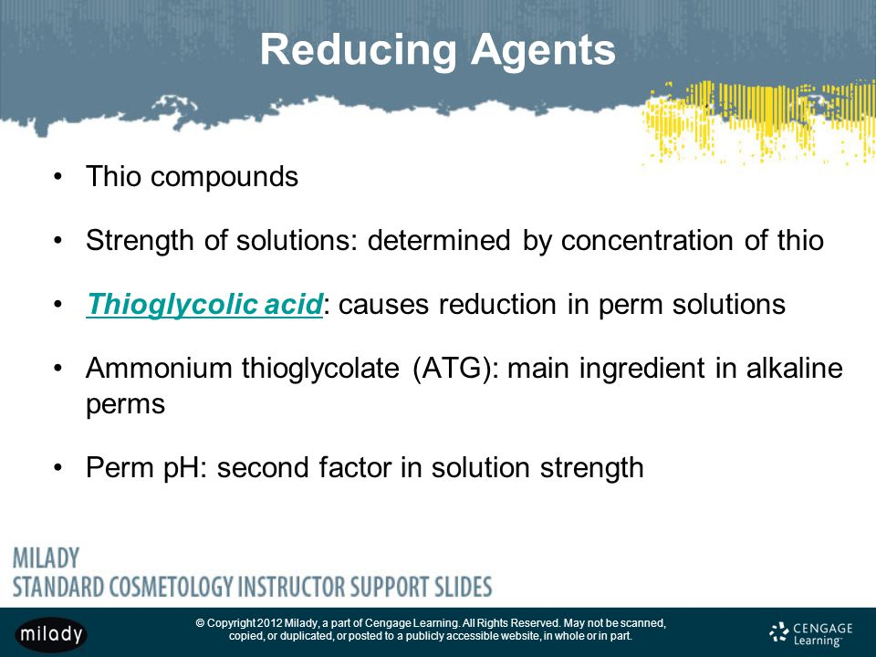 Reducing Agents Thio compounds