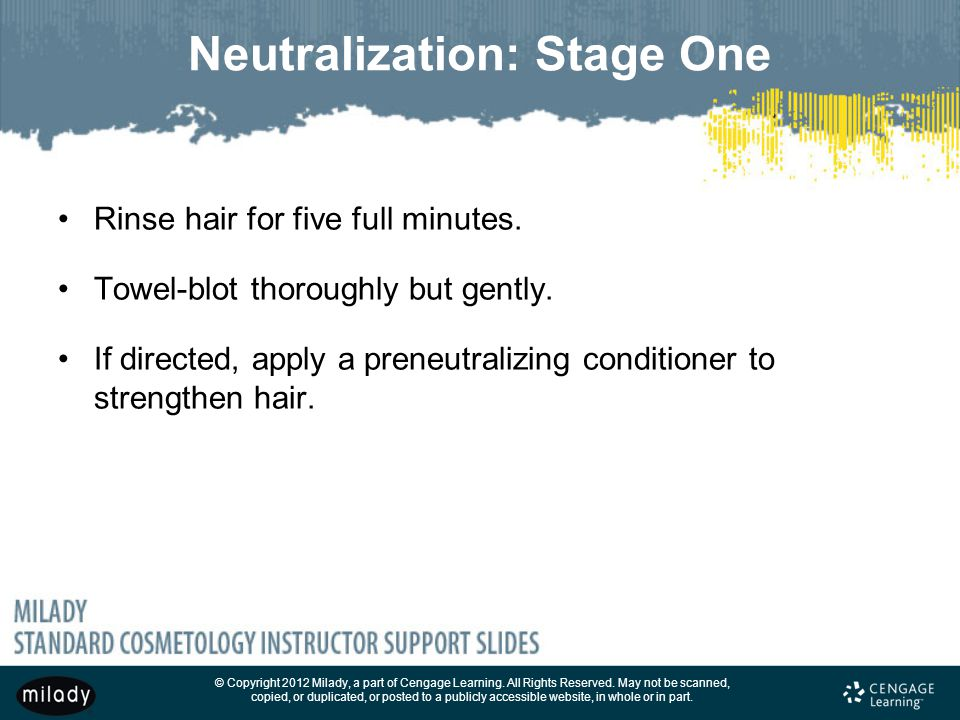 Neutralization: Stage One