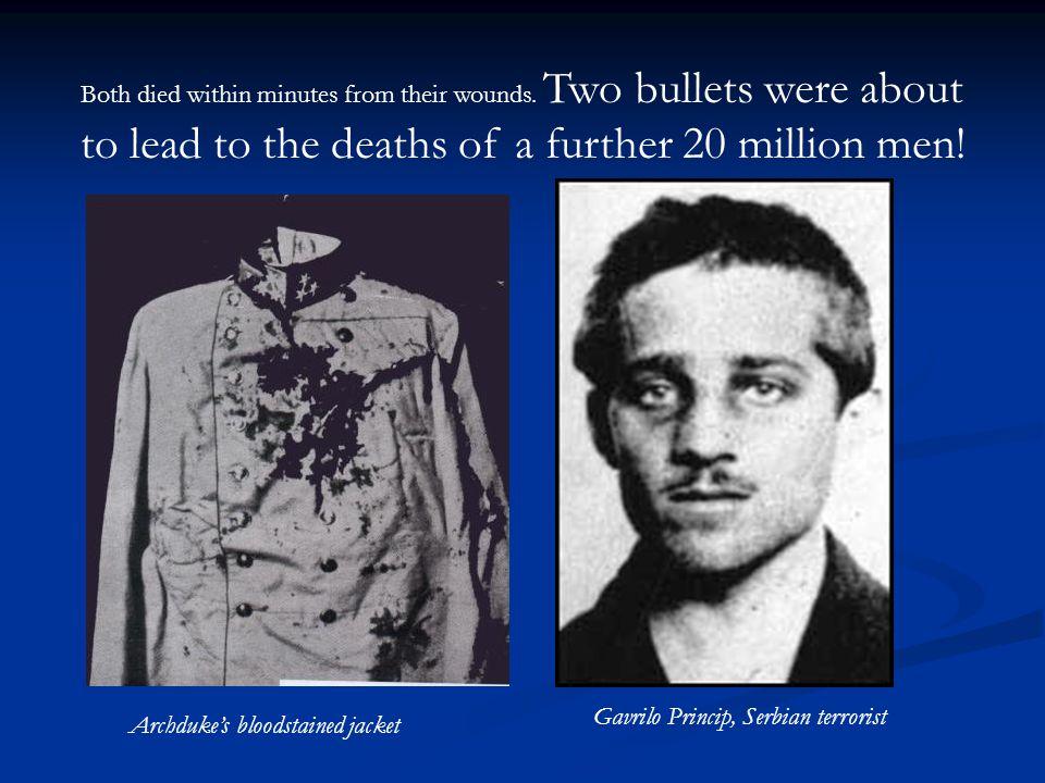 Gavrilo Princip, Serbian terrorist