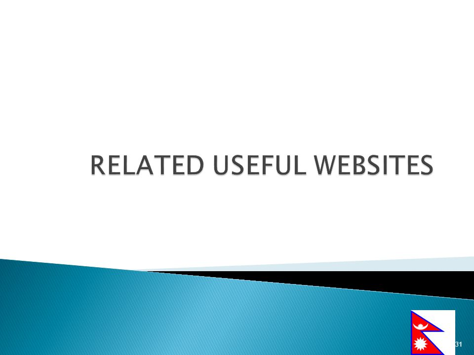 RELATED USEFUL WEBSITES