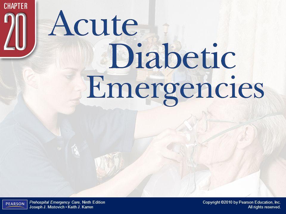 Acute Diabetic Emergencies