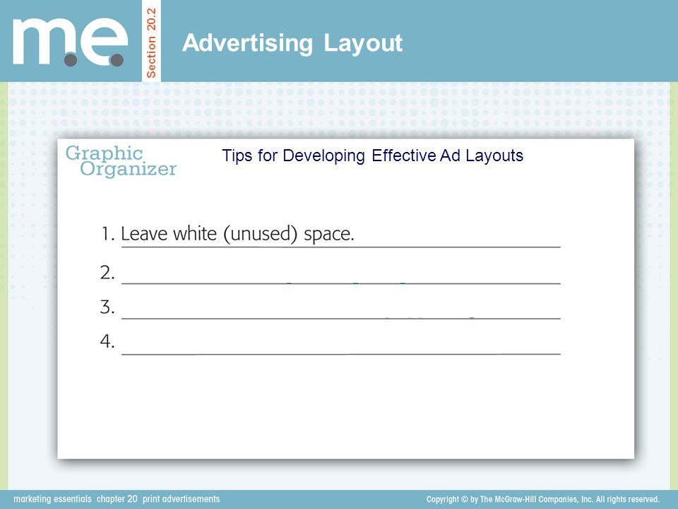 Tips for Developing Effective Ad Layouts