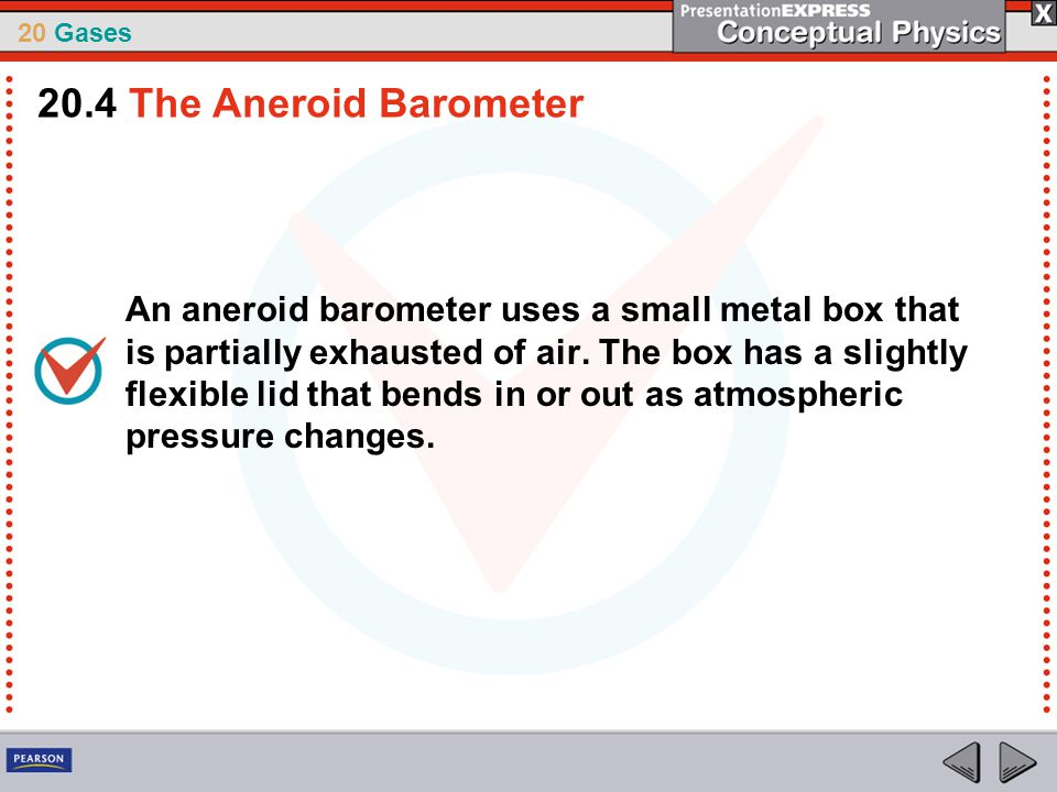 20.4 The Aneroid Barometer