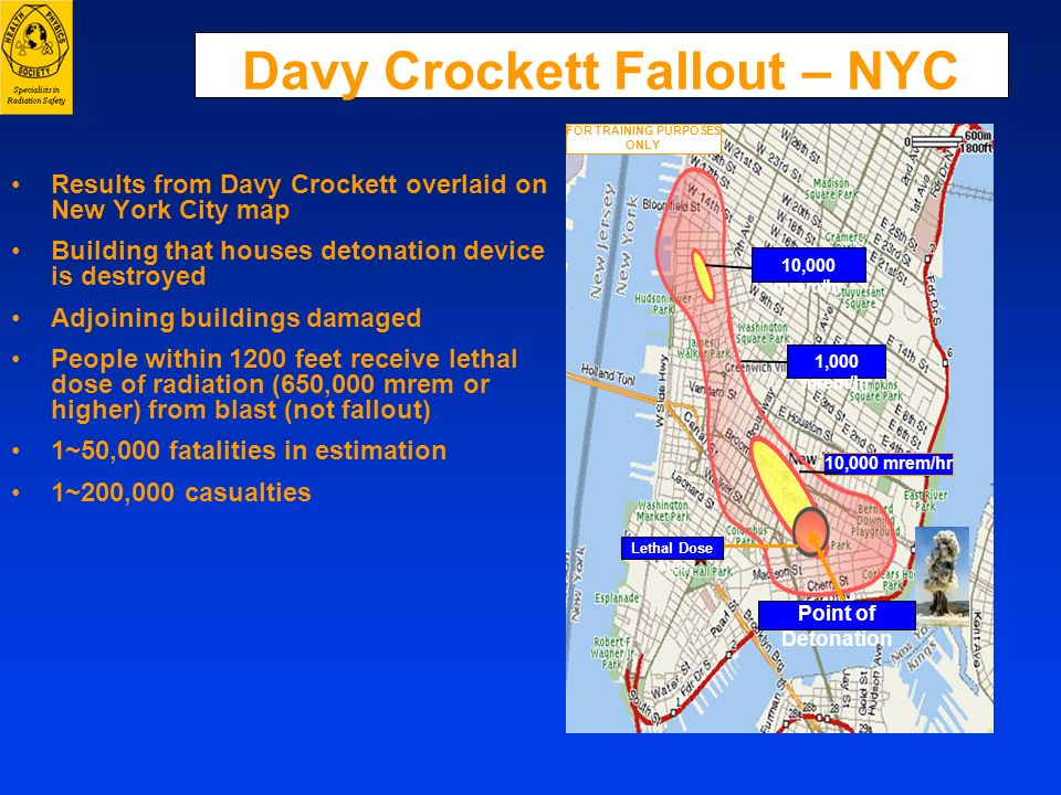 Davy Crockett Fallout – NYC