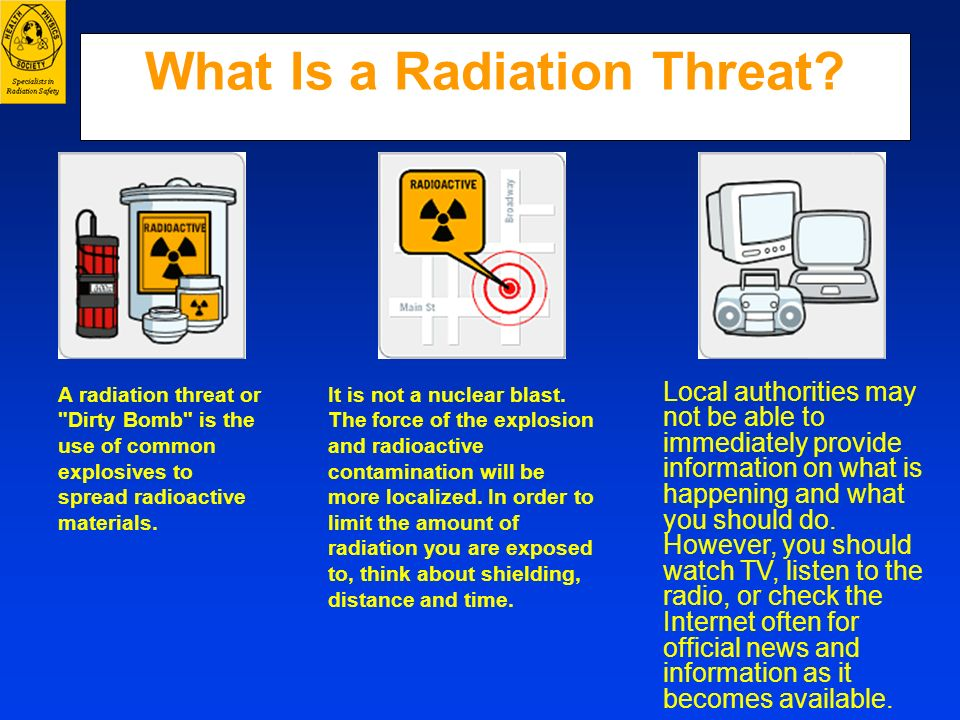 What Is a Radiation Threat