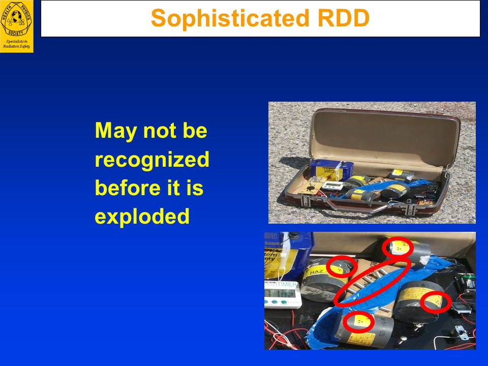 Sophisticated RDD May not be recognized before it is exploded