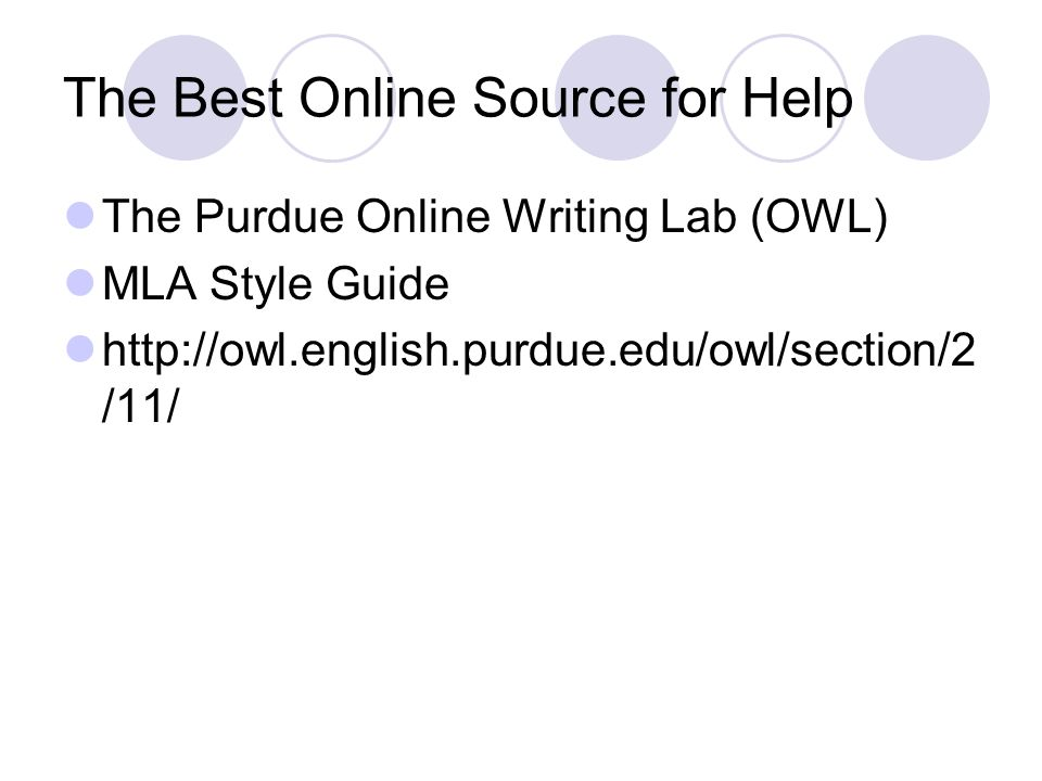 The Best Online Source for Help
