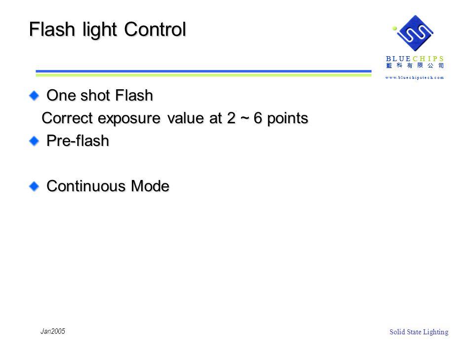 Flash light Control One shot Flash