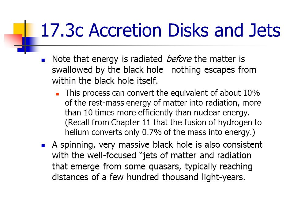 17.3c Accretion Disks and Jets