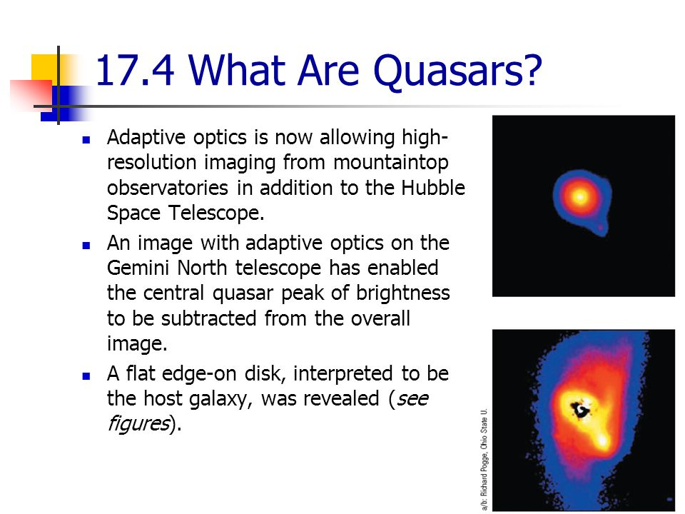 17.4 What Are Quasars