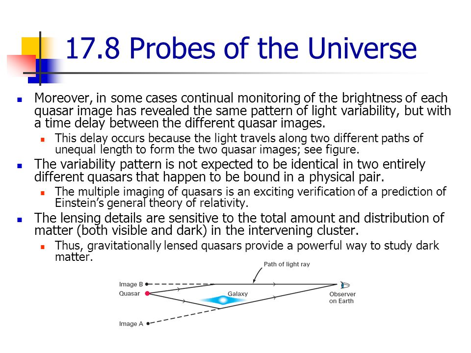 17.8 Probes of the Universe