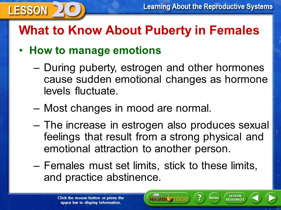 What to Know About Puberty in Females