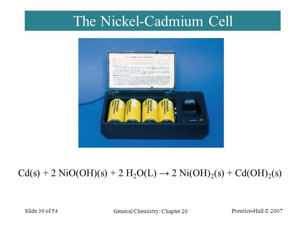 The Nickel-Cadmium Cell