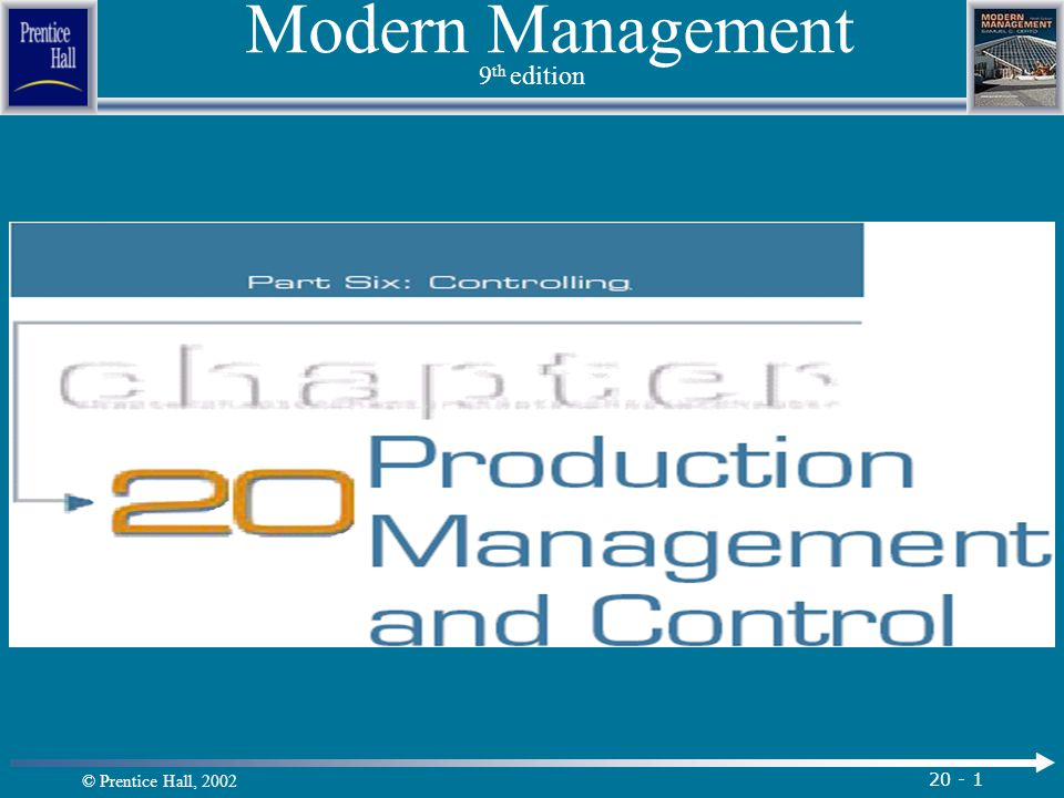 Modern Management 9th edition