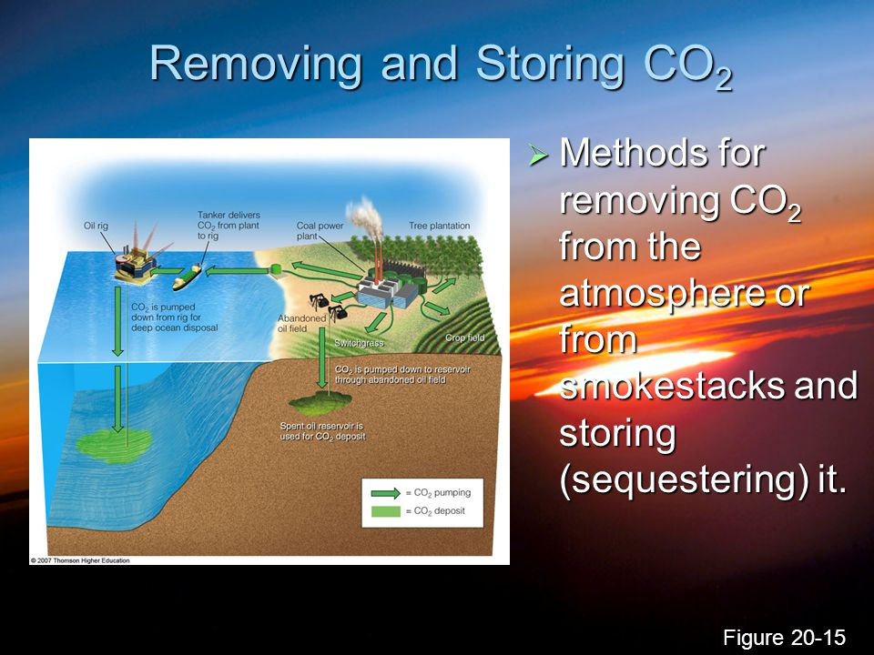 Removing and Storing CO2