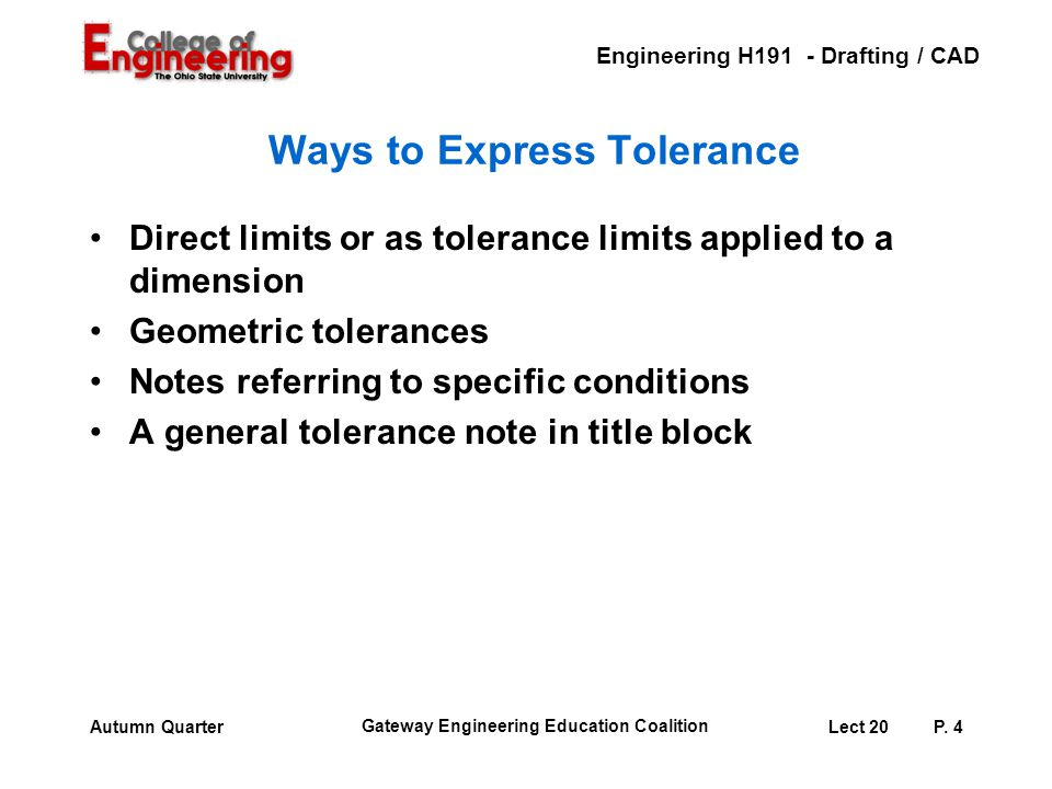 Ways to Express Tolerance