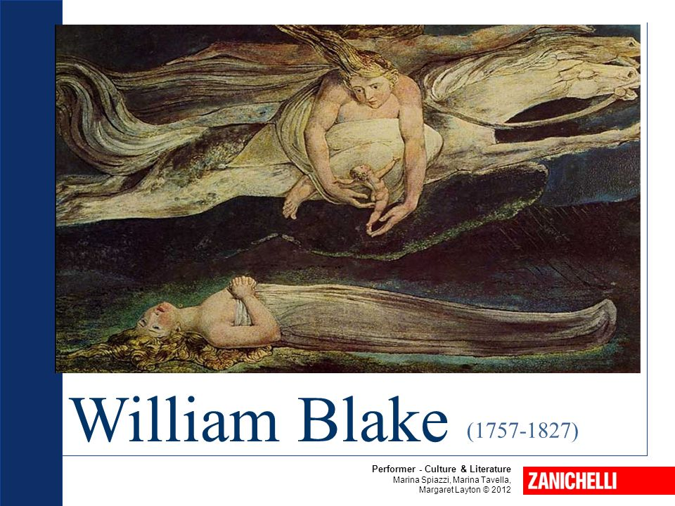 William Blake (1757-1827) Performer - Culture & Literature
