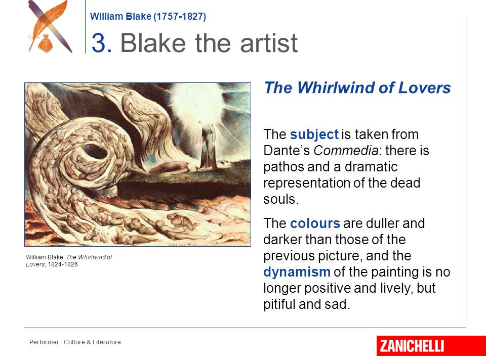 3. Blake the artist The Whirlwind of Lovers