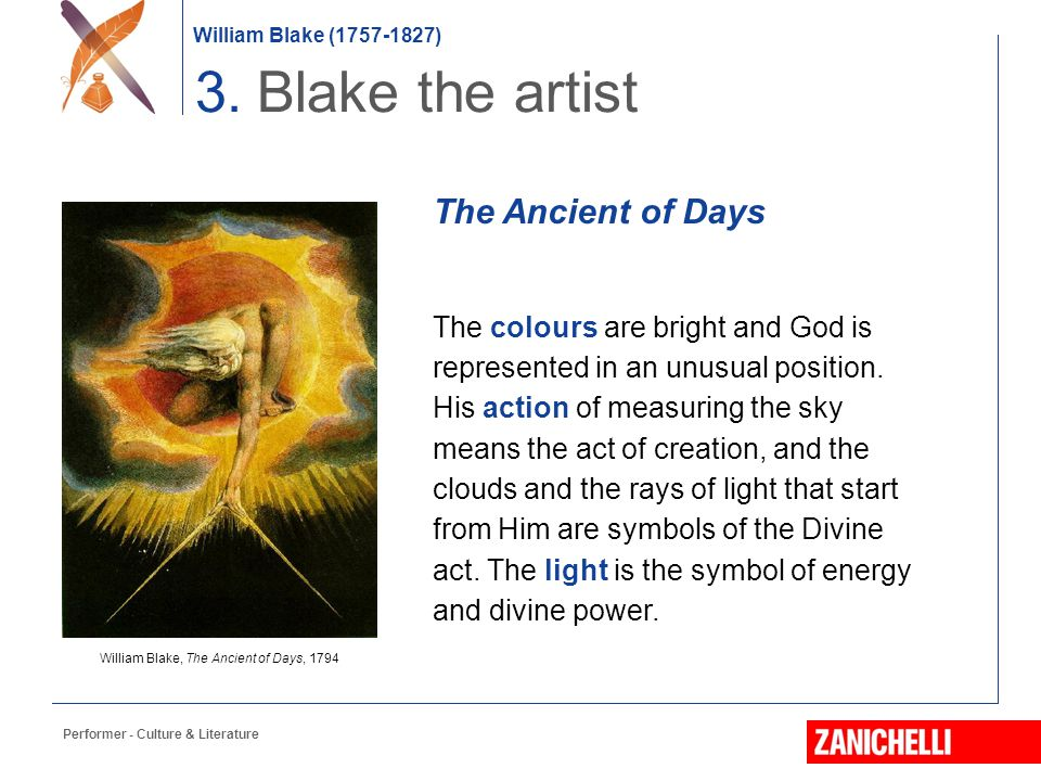 William Blake, The Ancient of Days, 1794