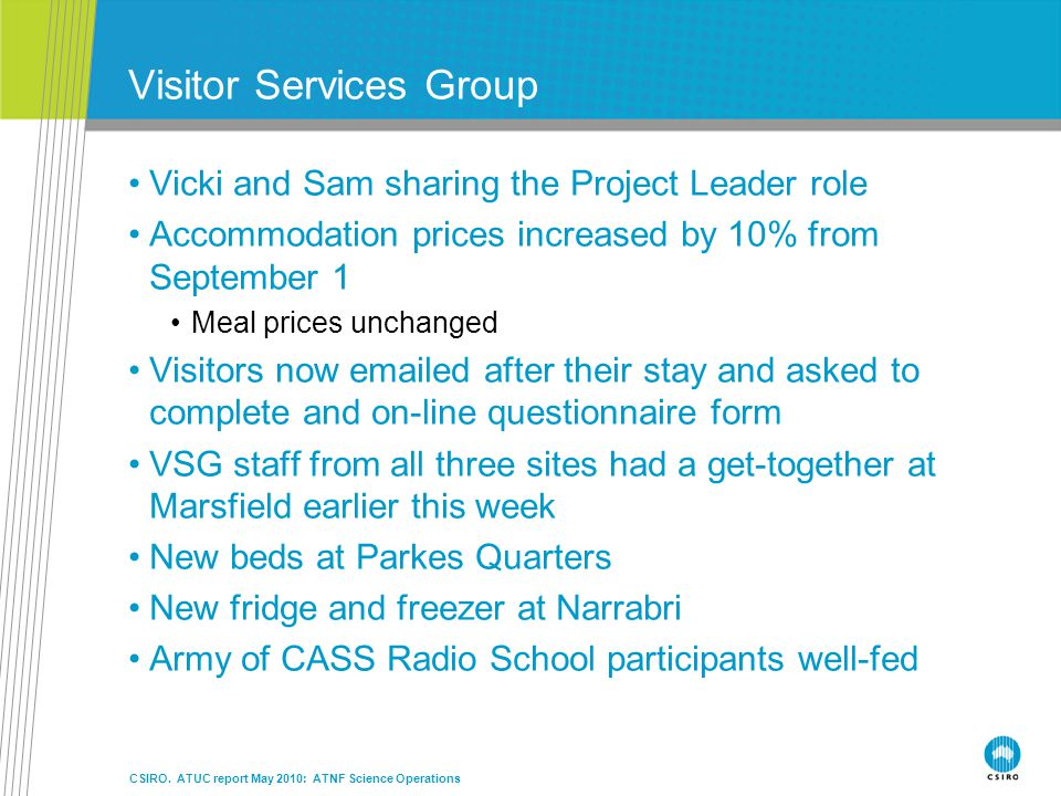 Visitor Services Group