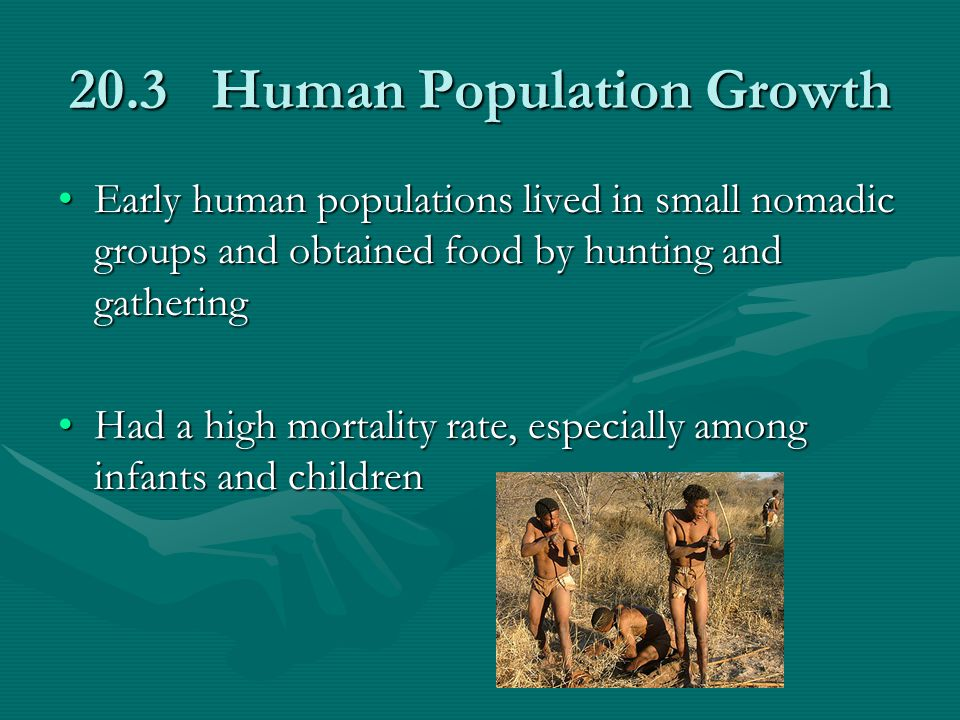 20.3 Human Population Growth