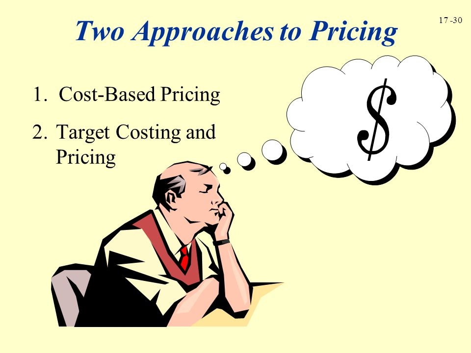 Two Approaches to Pricing