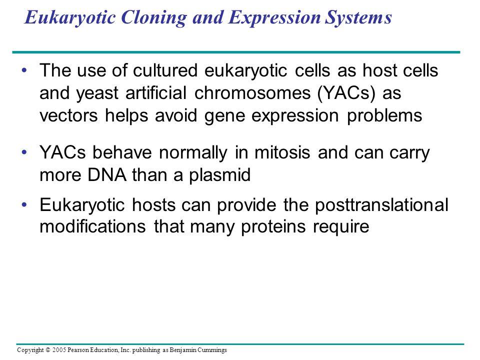 Eukaryotic Cloning and Expression Systems