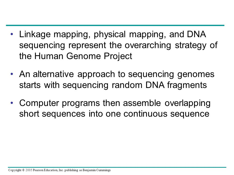 Linkage mapping, physical mapping, and DNA sequencing represent the overarching strategy of the Human Genome Project