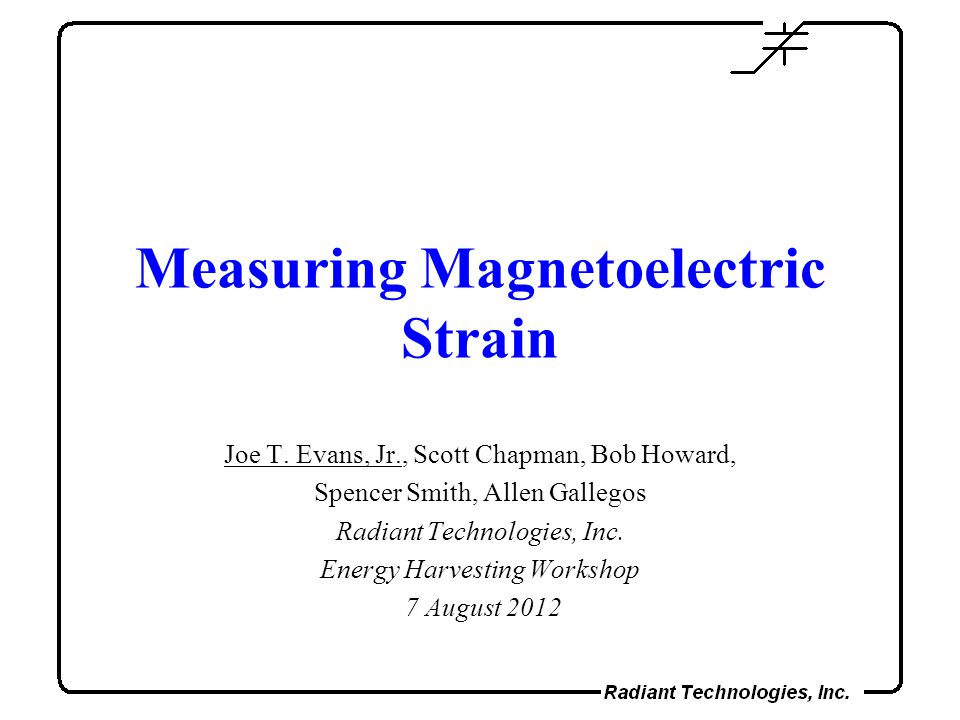 Measuring Magnetoelectric Strain