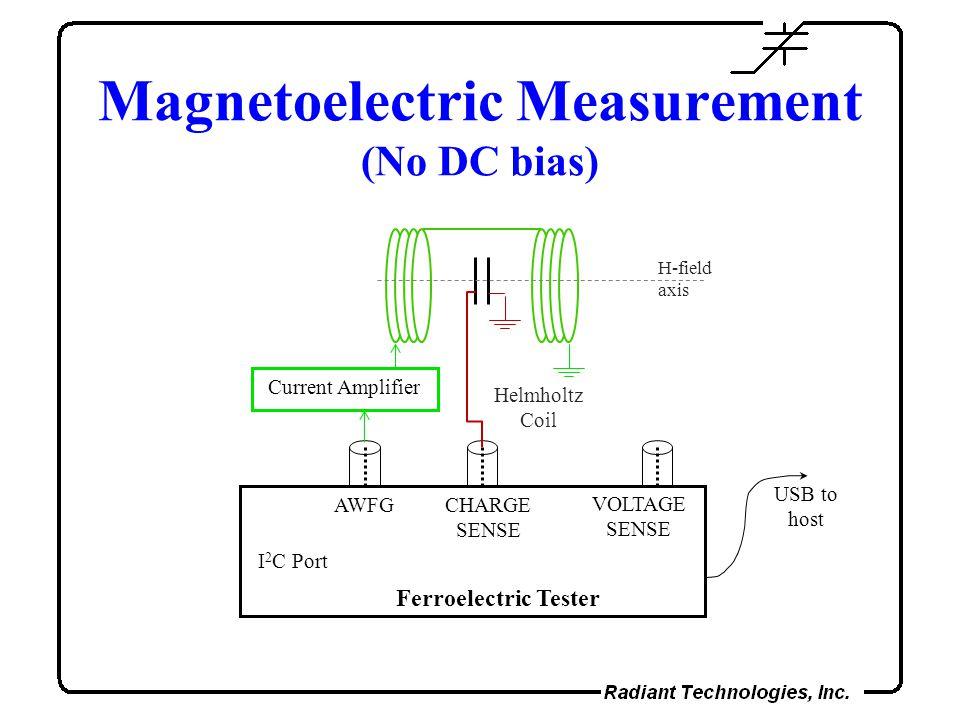 Magnetoelectric Measurement (No DC bias)