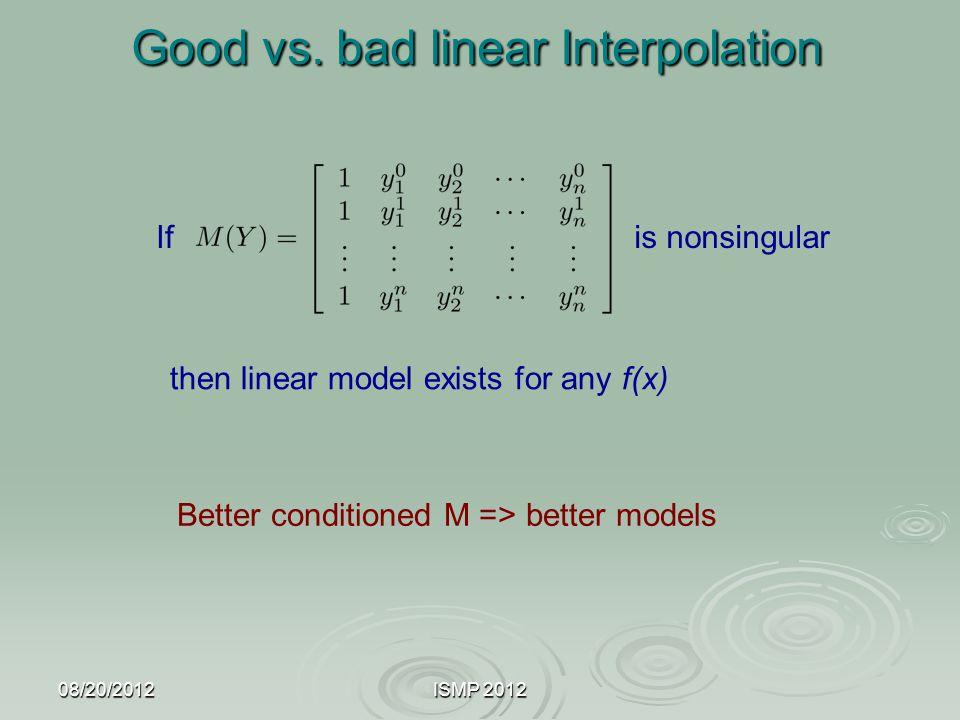 Good vs. bad linear Interpolation