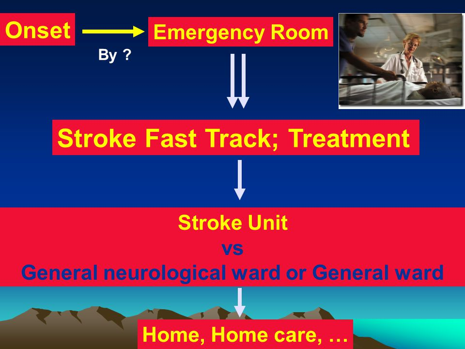 General neurological ward or General ward