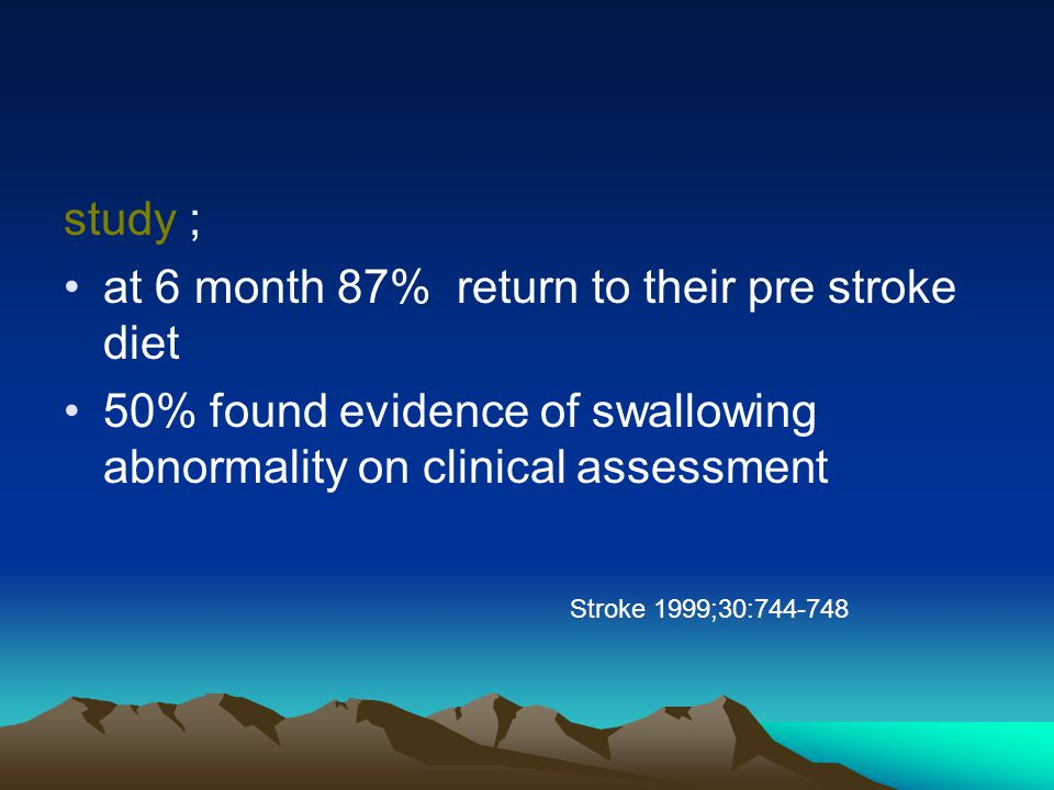clinical assessment of swallowing and prediction 2011-09-25 10 which test should we use is a water swallow test enough • the clinical application of the 100ml water swallow test in head and neck cancer patterson jm et al (2011) • the semisolid bolus swallow test for clinical diagnosis of oropharyngeal dysphagia: a prospective randomises study.