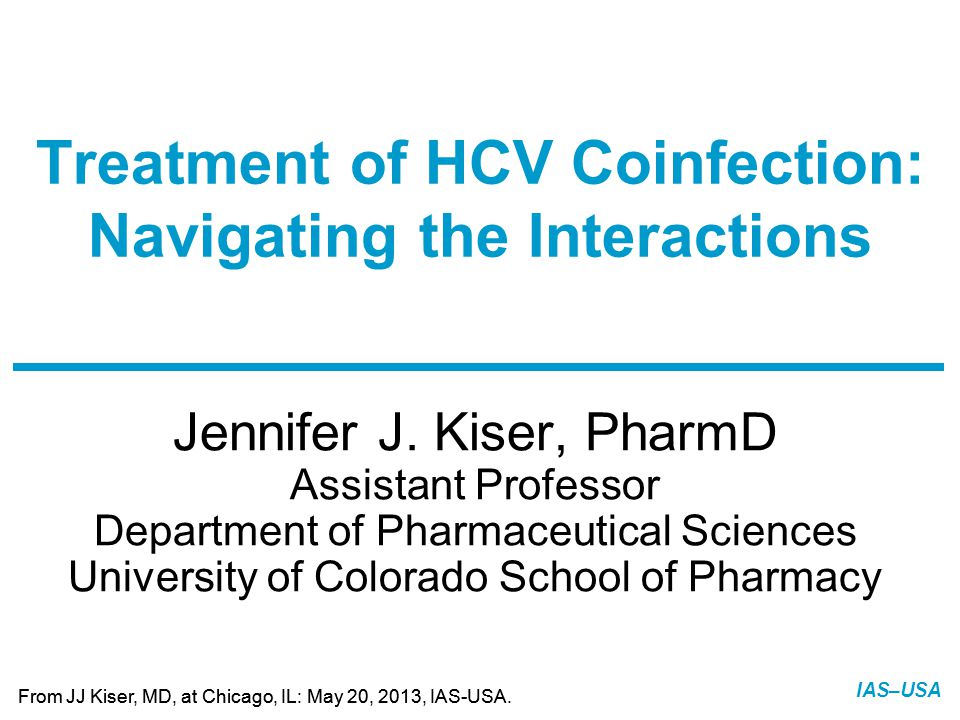Treatment of HCV Coinfection: Navigating the Interactions