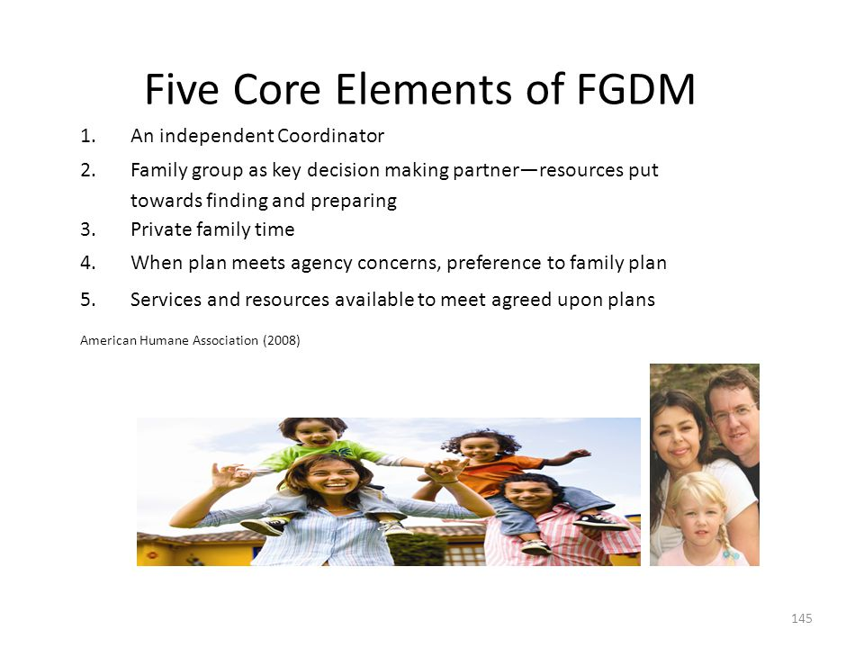 Five Core Elements of FGDM