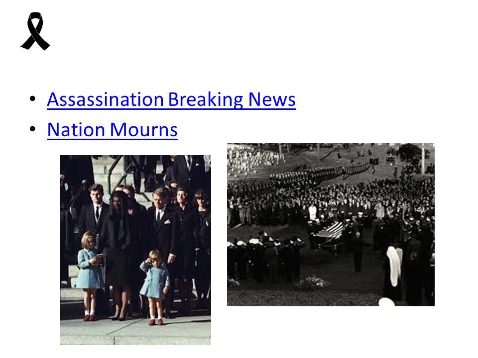 Assassination Breaking News