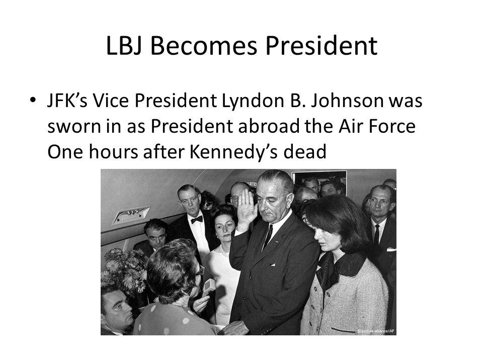 LBJ Becomes President JFK's Vice President Lyndon B.