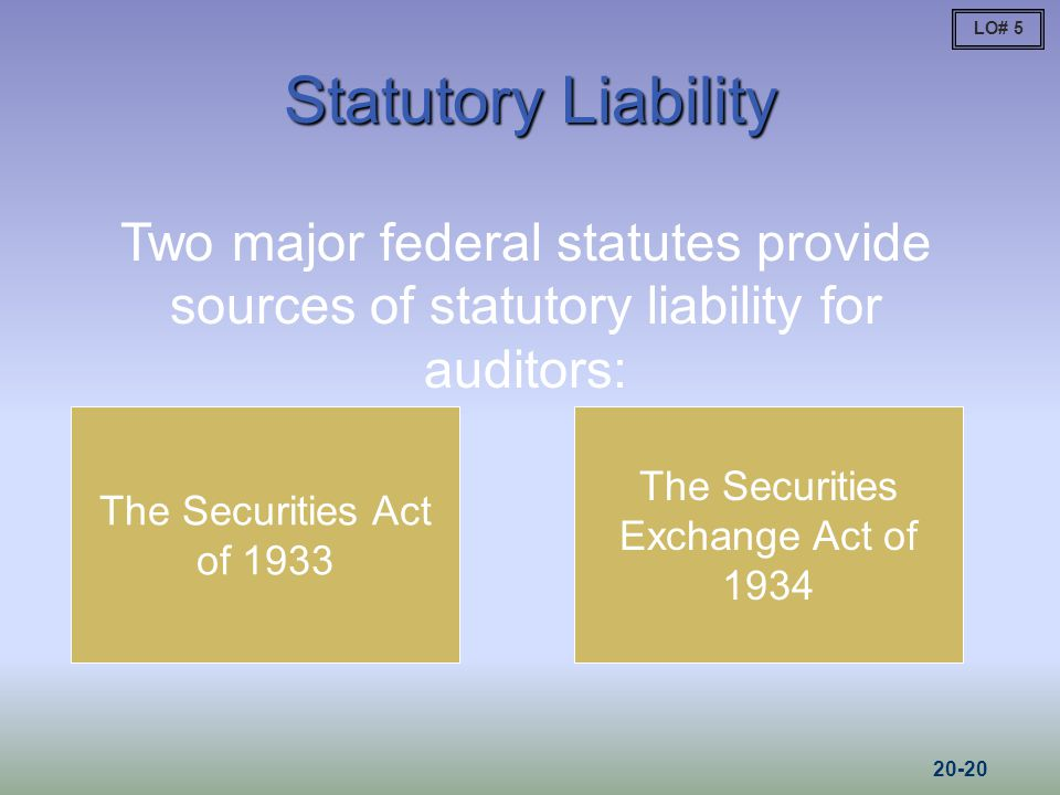 The Securities Exchange Act of 1934