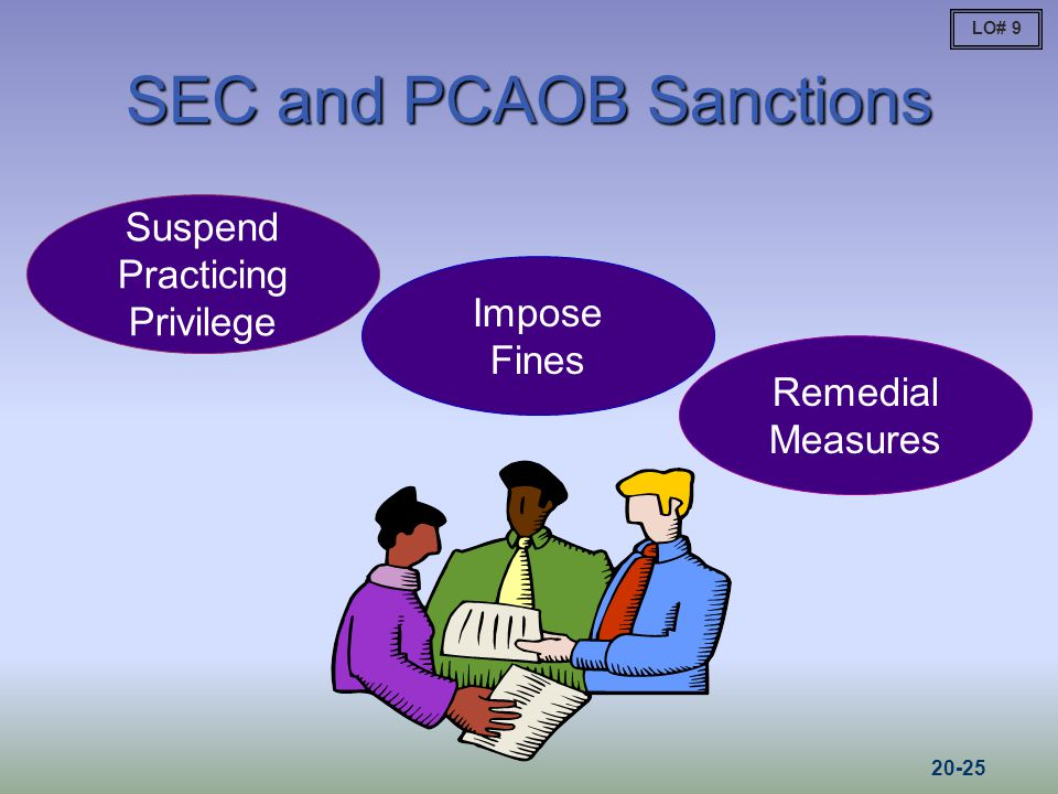 SEC and PCAOB Sanctions