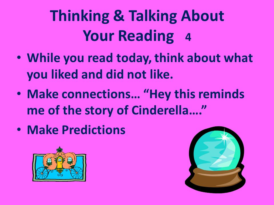 Thinking & Talking About Your Reading 4