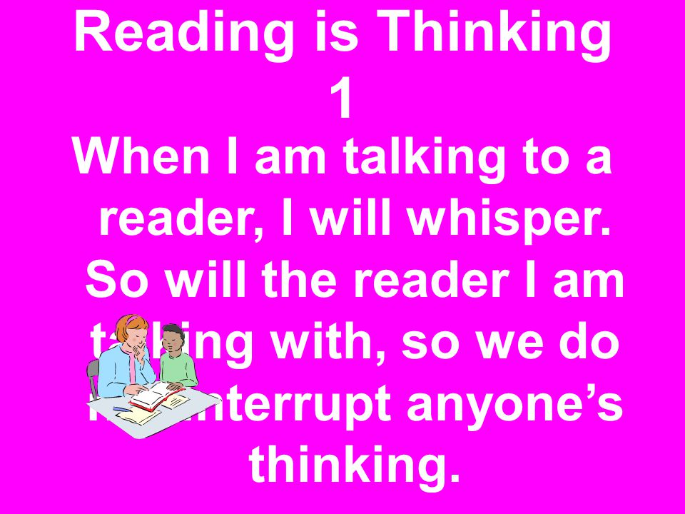 Reading is Thinking 1